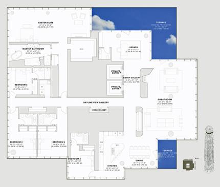 120的房间平面图尺寸