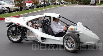 电动汽车的发展将使轻便的三轮汽车复活
