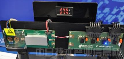 该负载点dc-dc稳压器采用零电压开关(zvs)拓扑,峰值效率为98%.