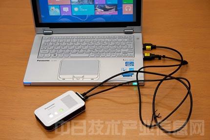 虽然用连接线连到hdmi和usb接口上,但投影仪不稳定.