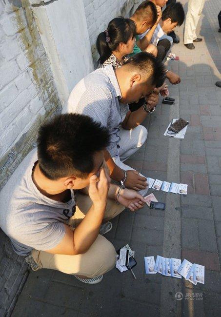 北京儿童医院多名号贩子被捕(组图)【4】