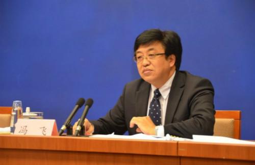 产业政策司司长冯飞(人民网记者 贾兴鹏摄)-国新办发布会介绍第一图片