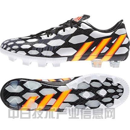 球鞋的秘密   日本队球员本田圭佑于2014年转入ac