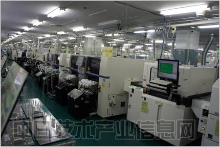 印刷电路板的制造现场