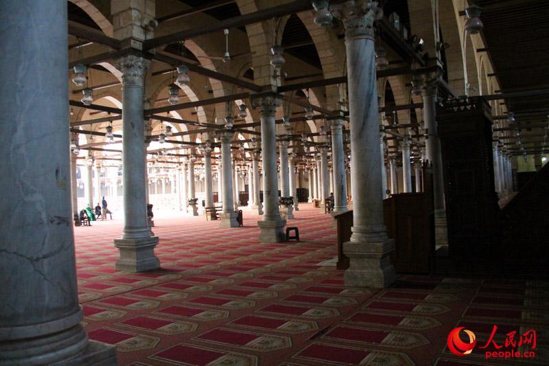 清真寺内景