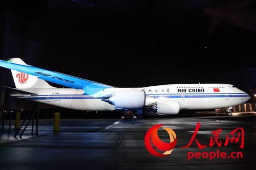 飞机交付仪式,中国国航正式引进中国民航首架波音747