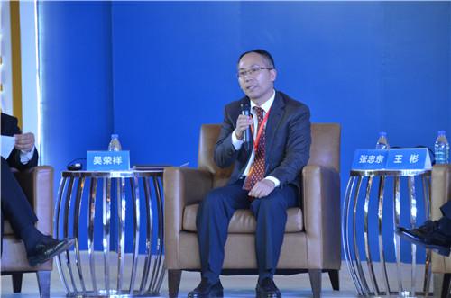 天津东疆保税港区管理委员会副主任张忠东