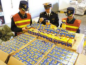 海关查获侵权商品1.1亿件