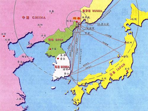 边陲小城故事多 吉林属意新兴东北亚图片