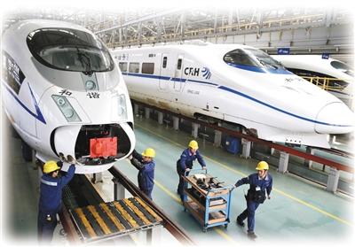 我国快速铁路网基本建成