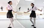 """""""90后""""盲女的芭蕾梦"""