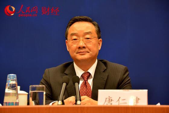 中央农村工作领导小组副组长、办公室主任唐仁健(人民网记者 李彤摄)
