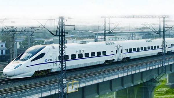 2020年高鐵覆蓋八成人口過百萬城市