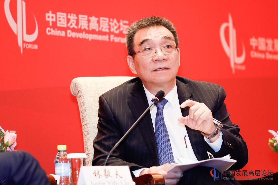 北京大学新结构经济学研究院教授,院长林毅夫(图)