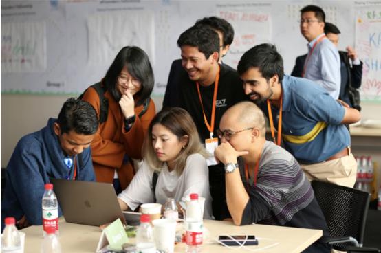 """""""一带一路""""在杭州 海外青年创业者在阿里巴巴学习中国经验"""