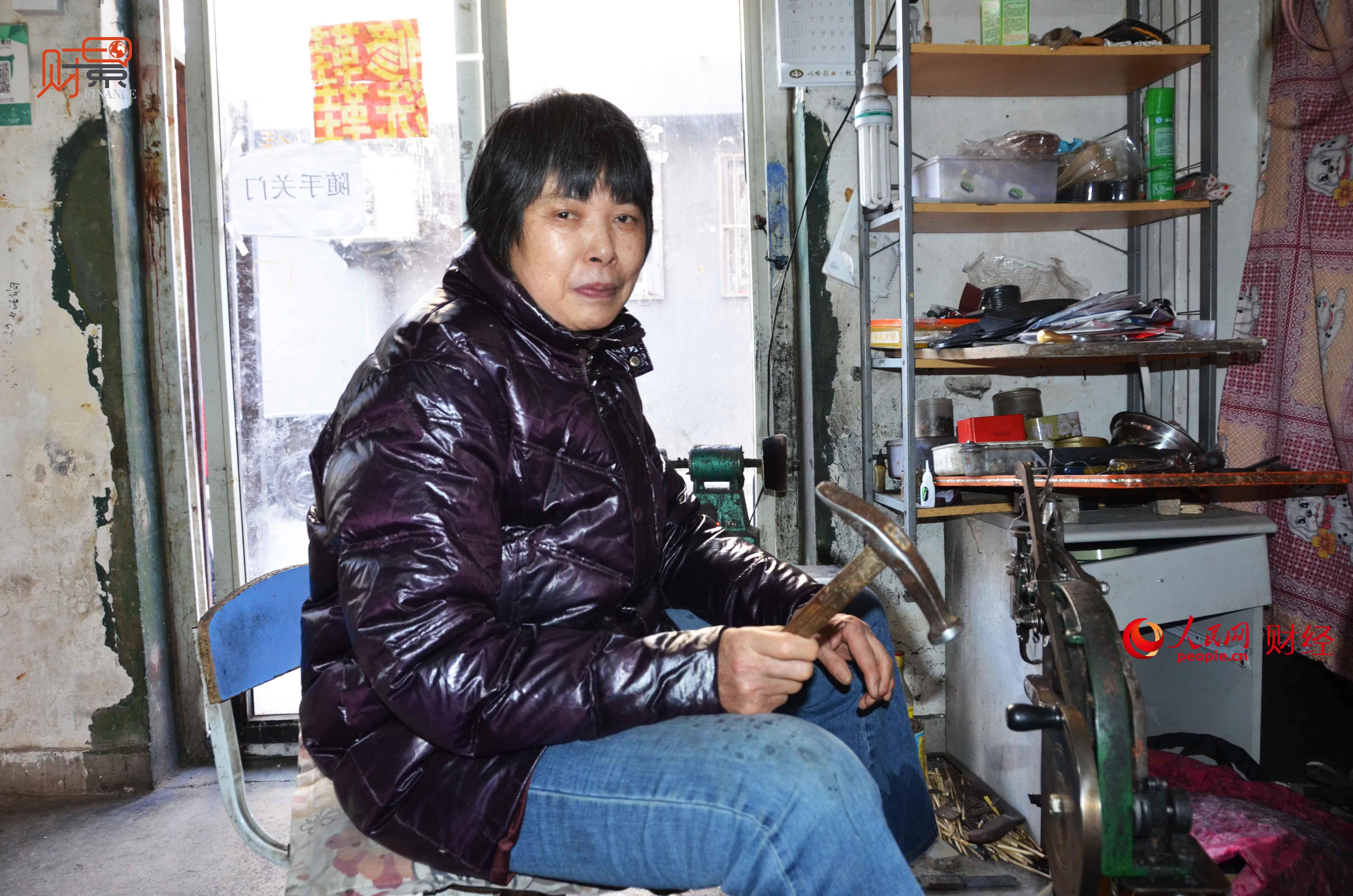 女修鞋匠:坚守30年见证北京变迁