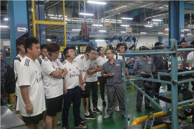 媒体走进诚信服务联盟企业韩泰轮胎高度自动化生产线瞩目新巴黎中文