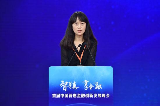 冯燕 中国银保监会普惠金融部副主任