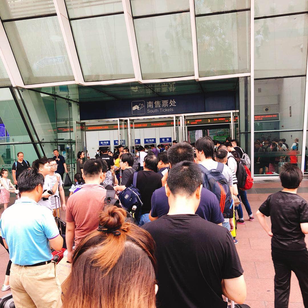 京沪高铁经铁路部门抢修 列车运行秩序正在逐步恢复