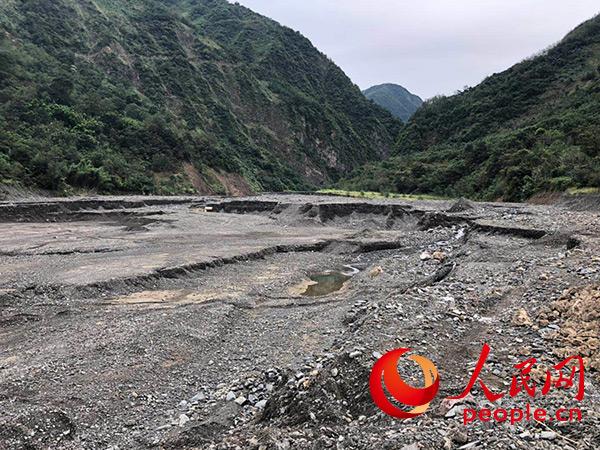 防范樱桃沟泥石流灾害治理工程有效拦挡发挥重要作用