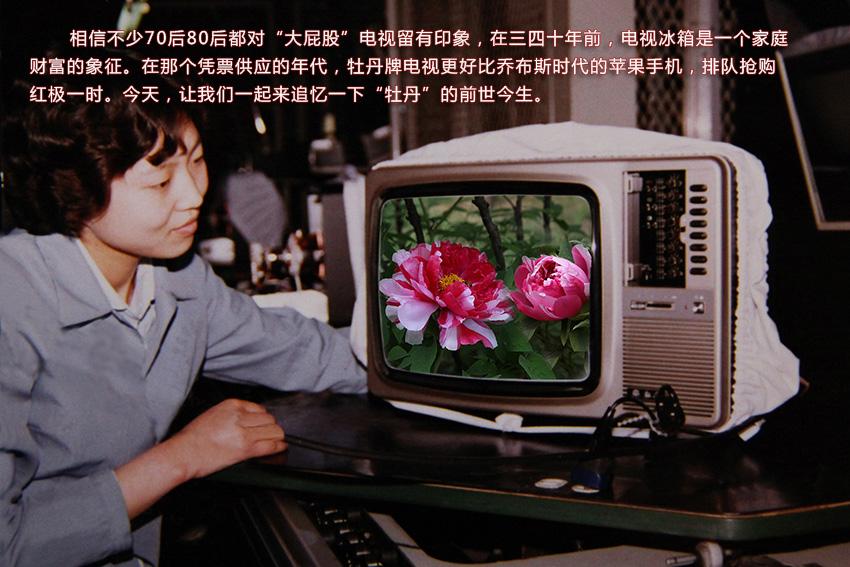 还记得牡丹牌电视机吗