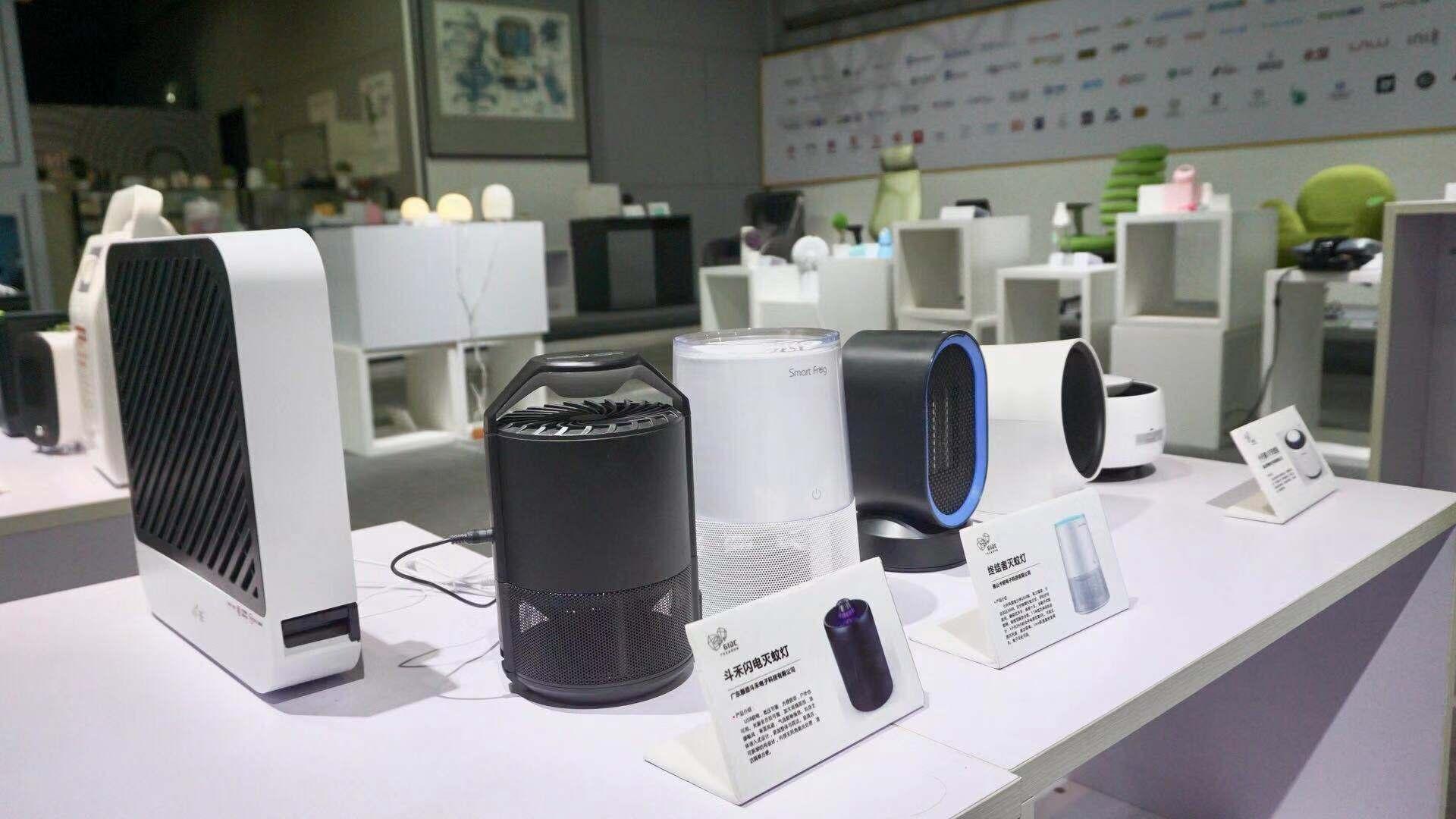 广州工业设计城的设计产品展示.全森 摄