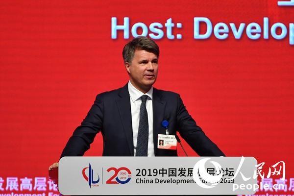 科鲁格:中国将在未来出行领域发挥决定性作用