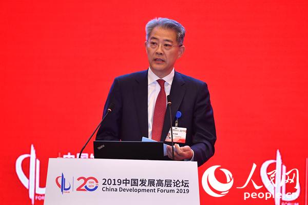中国光大集团股份公司董事长李晓鹏(图)