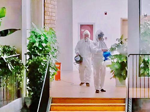 """在家办公、线上业务成复工常态 消毒是""""标配"""""""