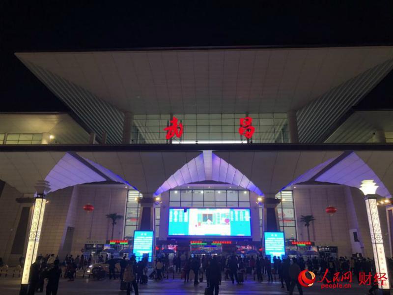 武昌火车站恢复对外交通。 金雨蒙 摄