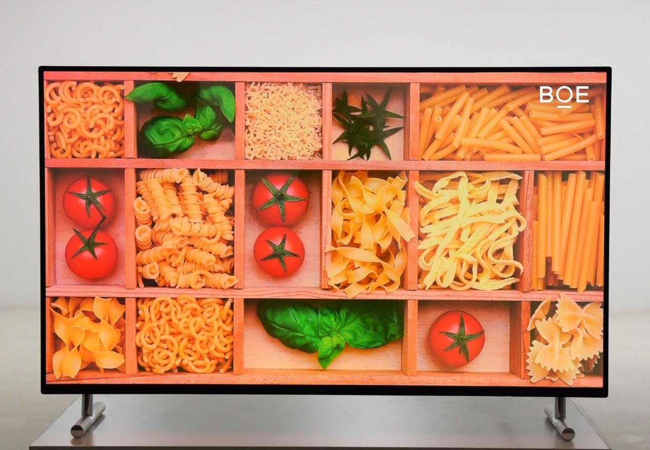 京东方发布55英寸超高清主动式量子点显示屏