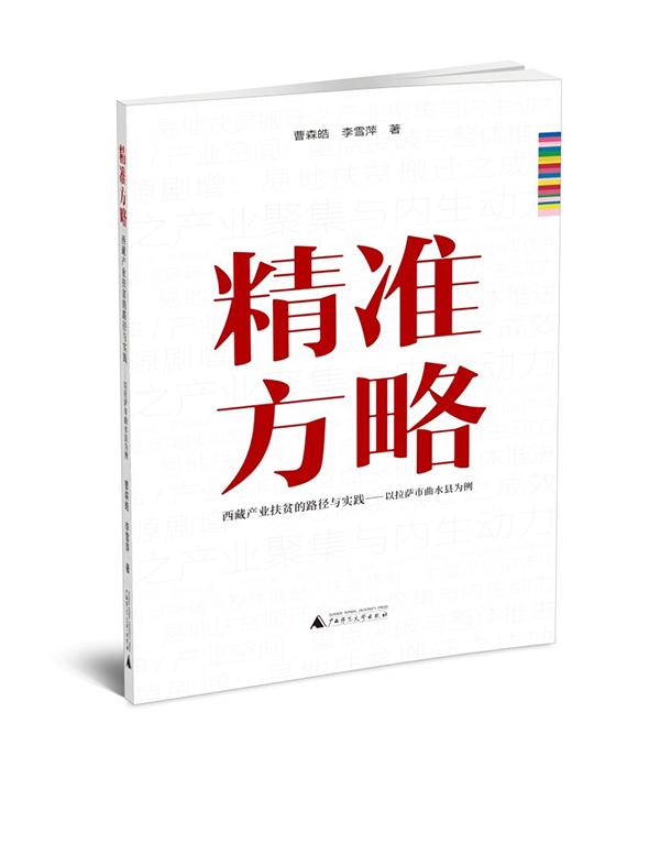 聚焦产业扶贫可持续发展《精准方略》一书出版发行
