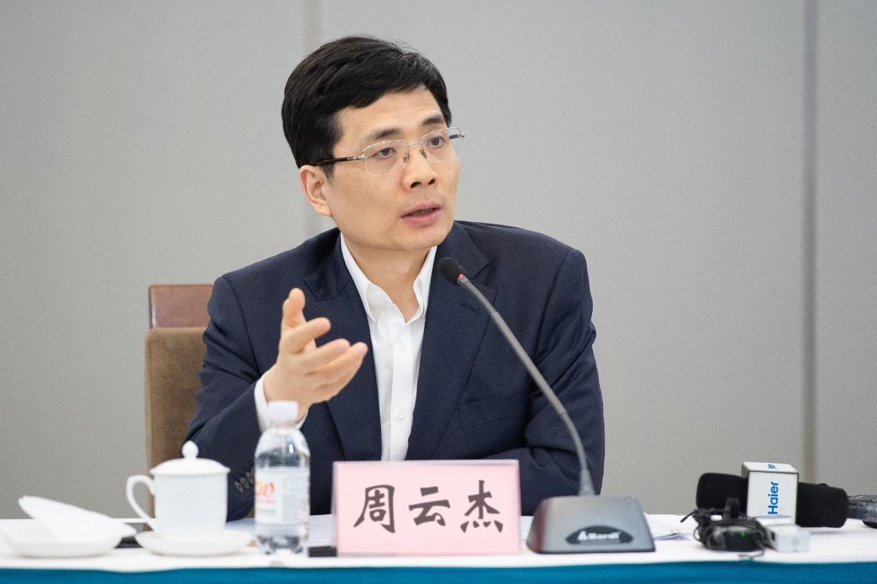 周云杰代表:建设中国特色工业互