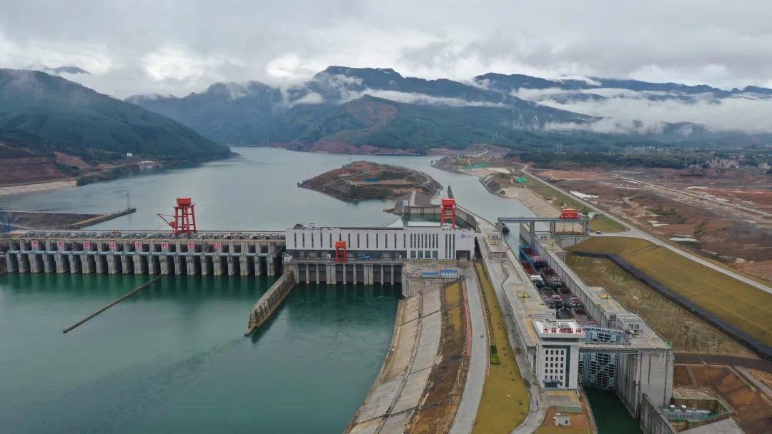 大藤峽船閘試通航一年帶動20億元產業高質量發展