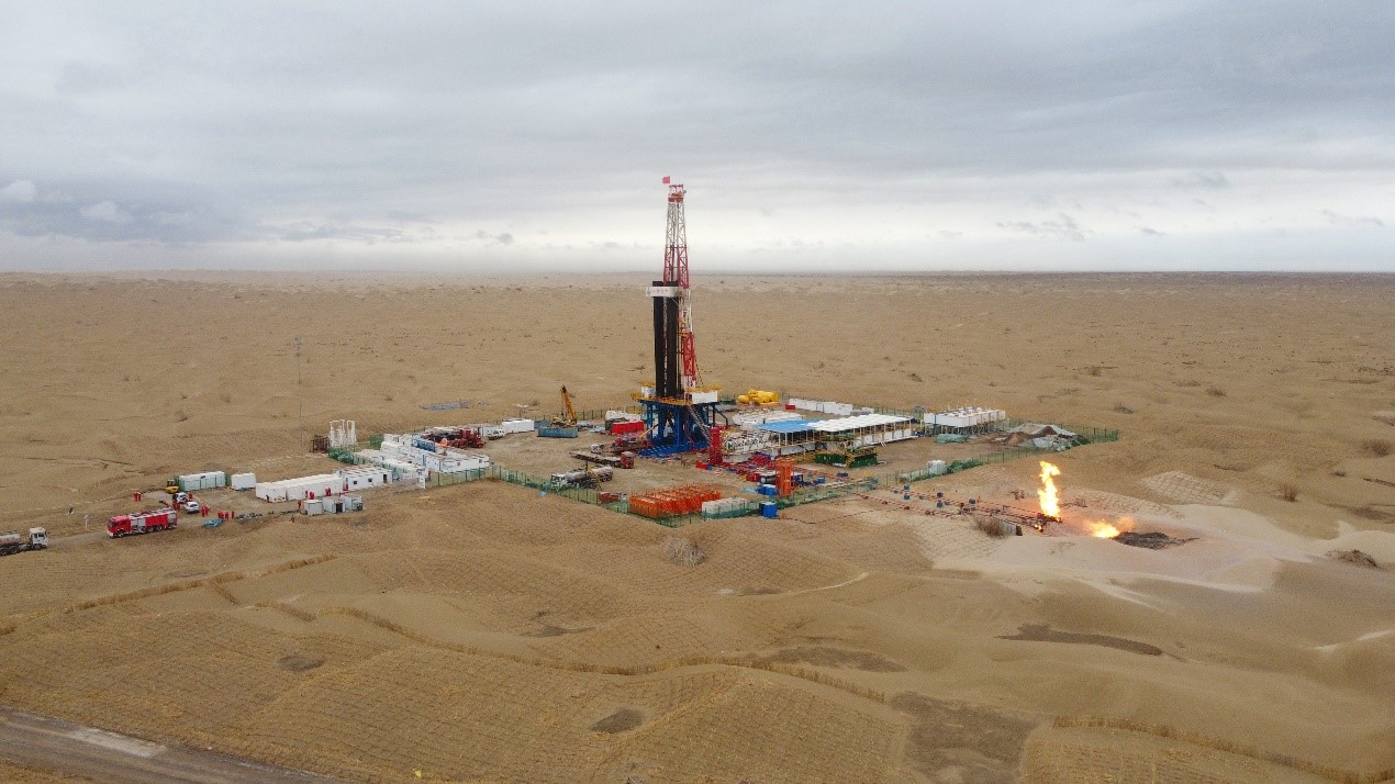 我國塔里木盆地順北油氣田再獲日產千噸油氣井