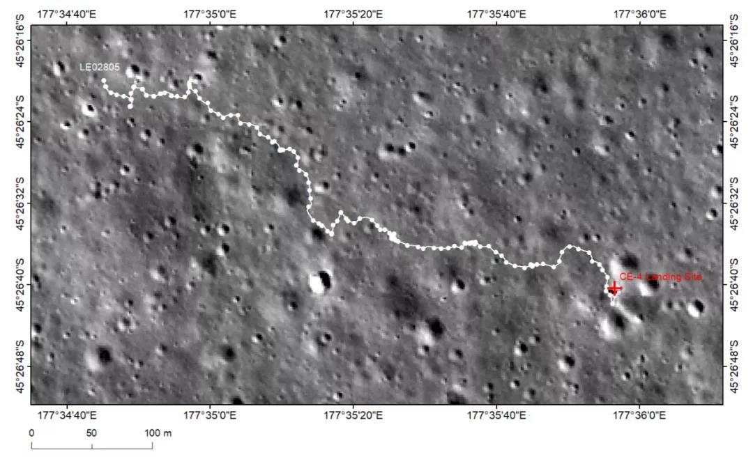 """嫦娥四號著陸器和""""玉兔二號""""月球車順利喚醒進入第29月晝工作期"""