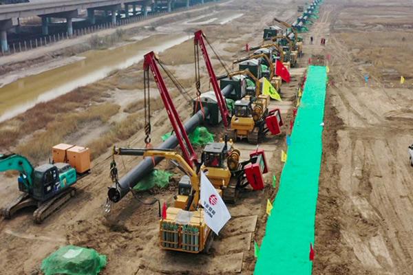 """我國天然氣管網又添""""大動脈""""蒙西管道項目一期工程開工建設"""