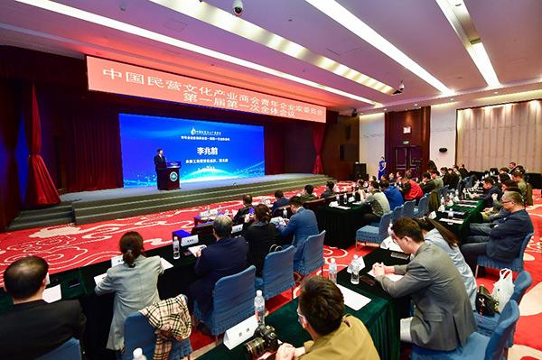 中國民營文化產業商會青年企業家委員會在京成立