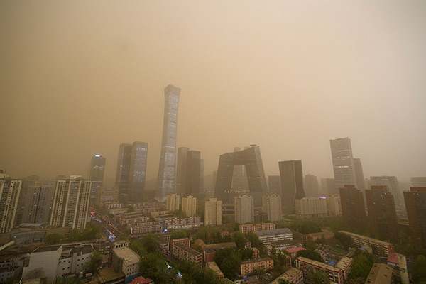 大風沙塵怎么又來了?氣象專家詳解天氣情形及成因