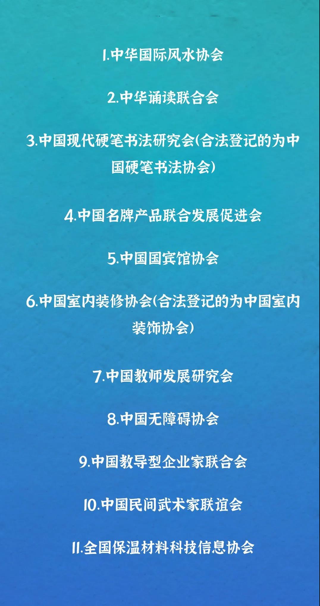 中国无障碍协会、中国教师发展研究会……2021年第三批涉嫌非法社会组织名单公布