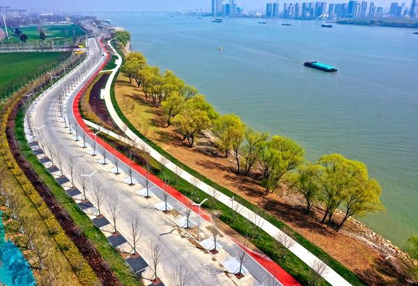 南京江北新区:绿色是发展的第一底色环境提升让群众更有获得感