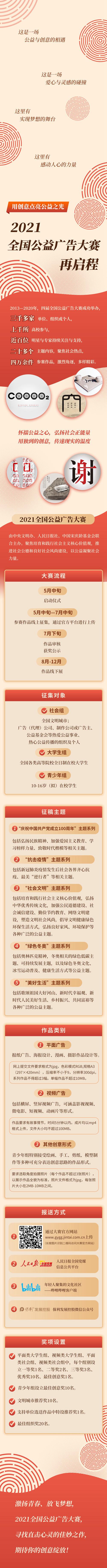 """""""2021全國公益廣告大賽""""在京啟動"""