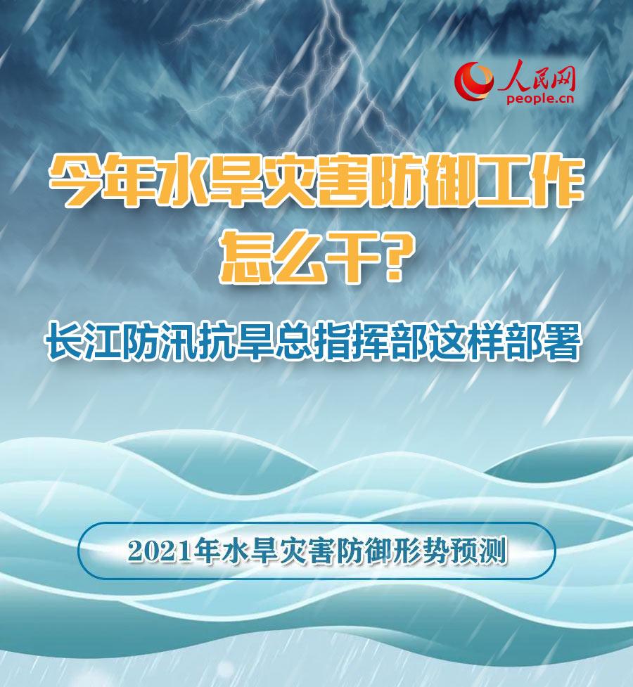 今年水旱災害防御工作怎么干?長江防總這樣部署