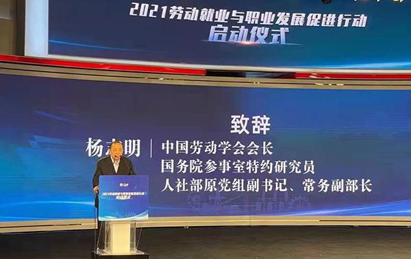 """""""2021劳动就业与职业发展促进行动""""在京启动"""