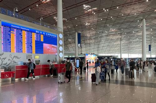 首都机场国庆小长假期间预计运送旅客88.9万人次