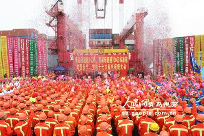 青岛港吞吐量跨越2亿吨