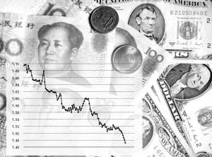 张秀菊/2007年5月以来,美元对人民币汇率走势CFP图片制图/张秀菊