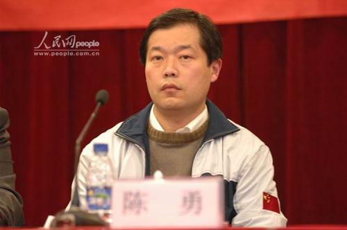 设计研究院副院长,arj飞机项目常务副总工程师陈勇
