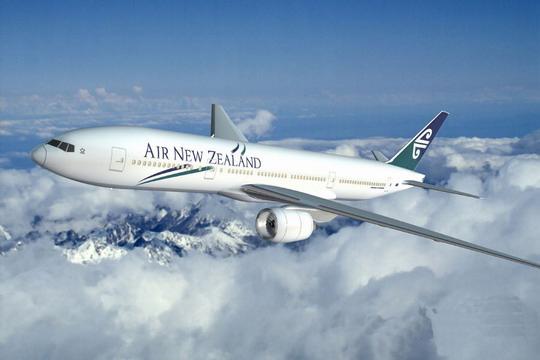 新西兰航空公司波音777-200er飞机