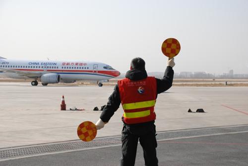 东航山西分公司飞机维修部认真做好春运航班保障工作